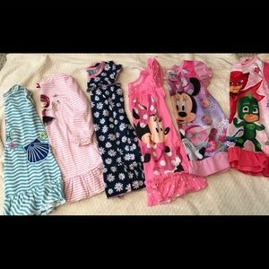Other - 6 pjs!! 2T nightgowns💓💓💓